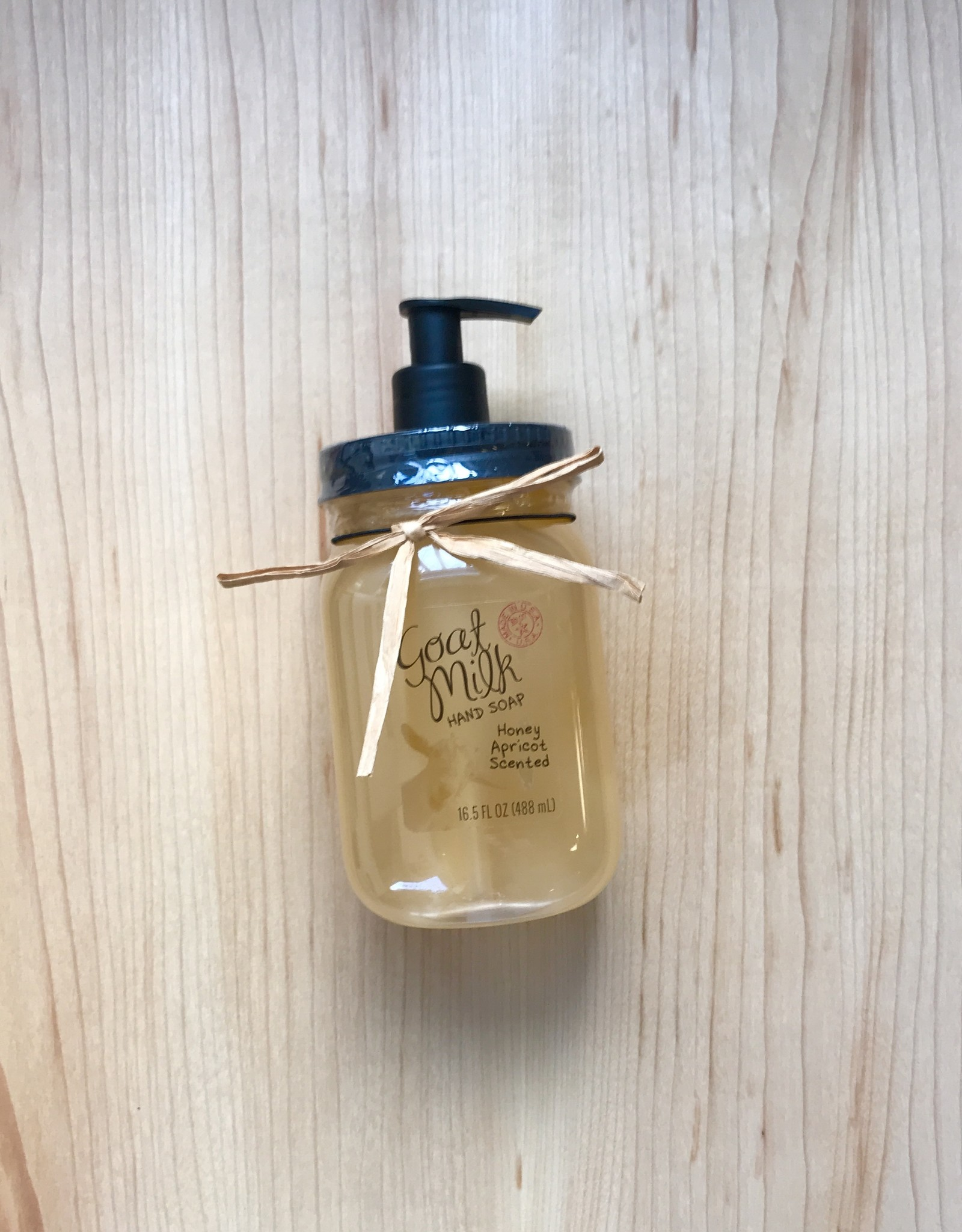 Simply Be Well Simply Be Well Goat Milk Honey Apricot Liquid Hand Soap