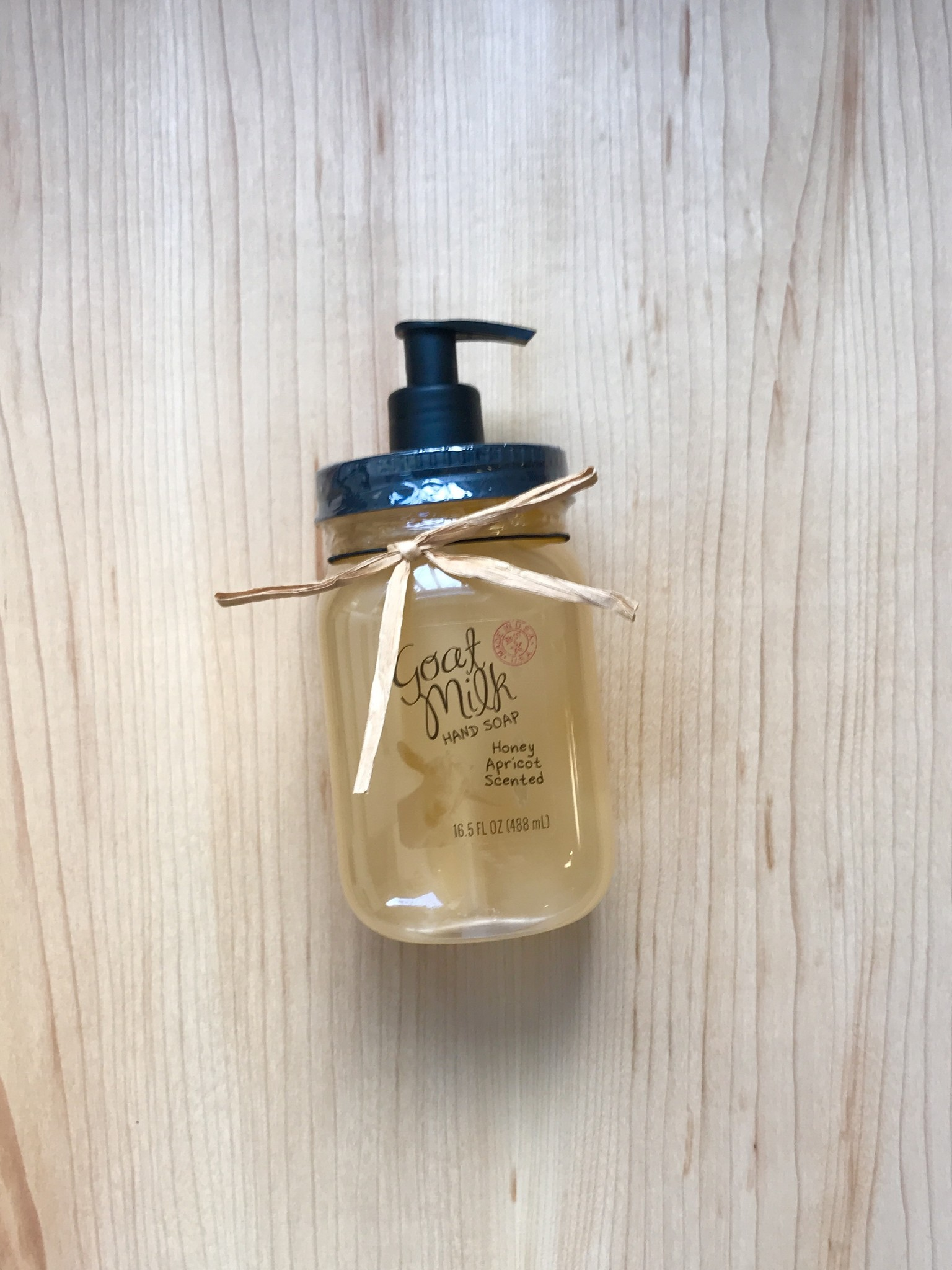 Simply Be Well Goat Milk Honey Apricot Liquid Hand Soap-1