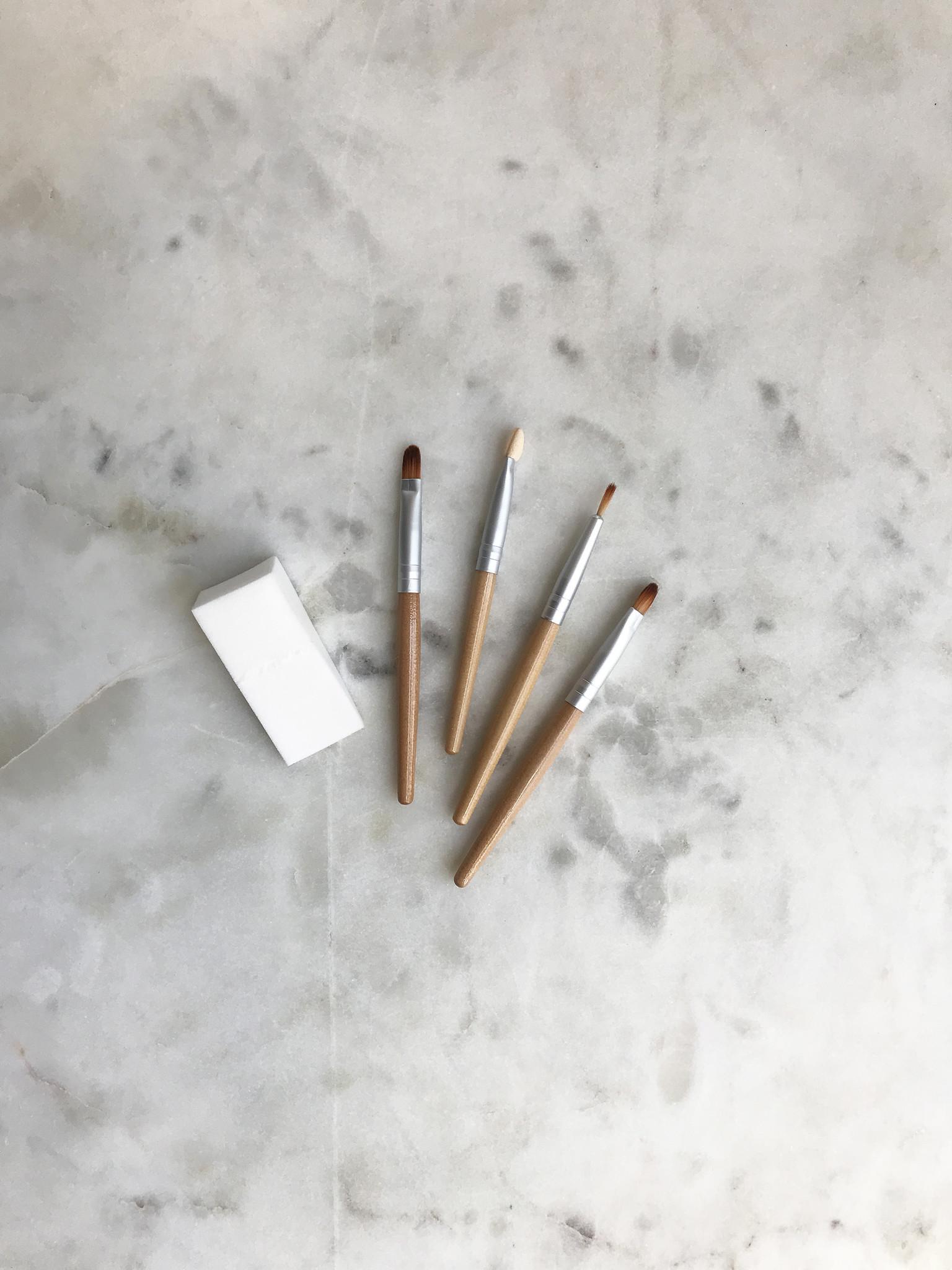 Natural Earth Eco Paint Brush Set-1