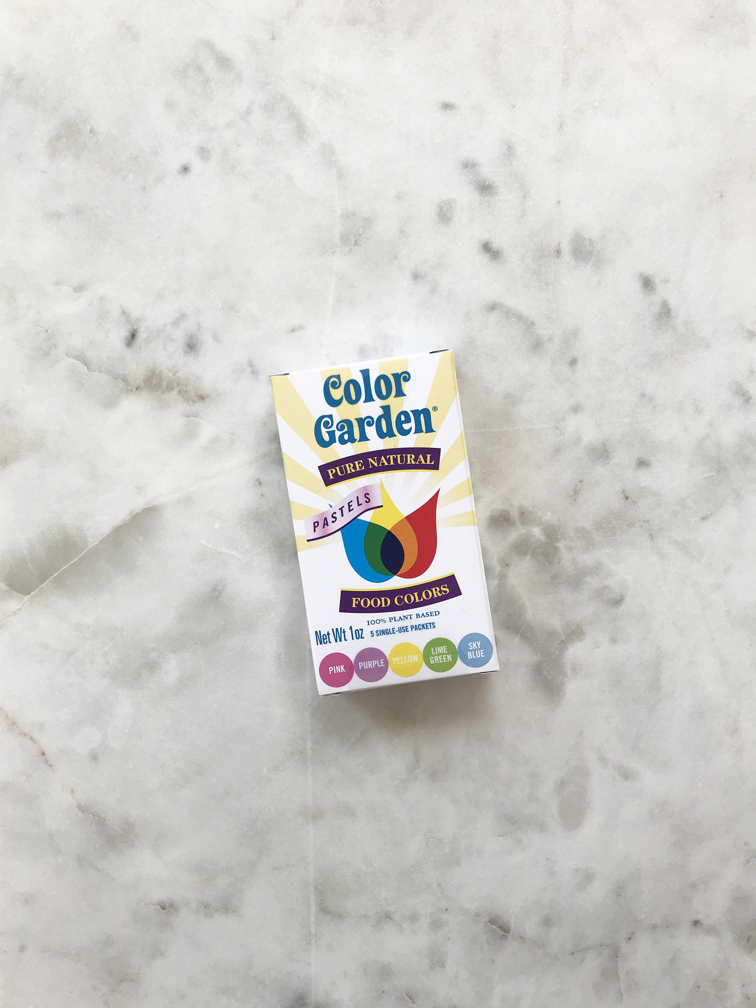 Color Garden Natural Food Coloring, 5 pack-1