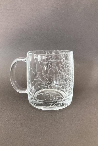 Well Told Hometown Providence Glass Handled Coffee Mug
