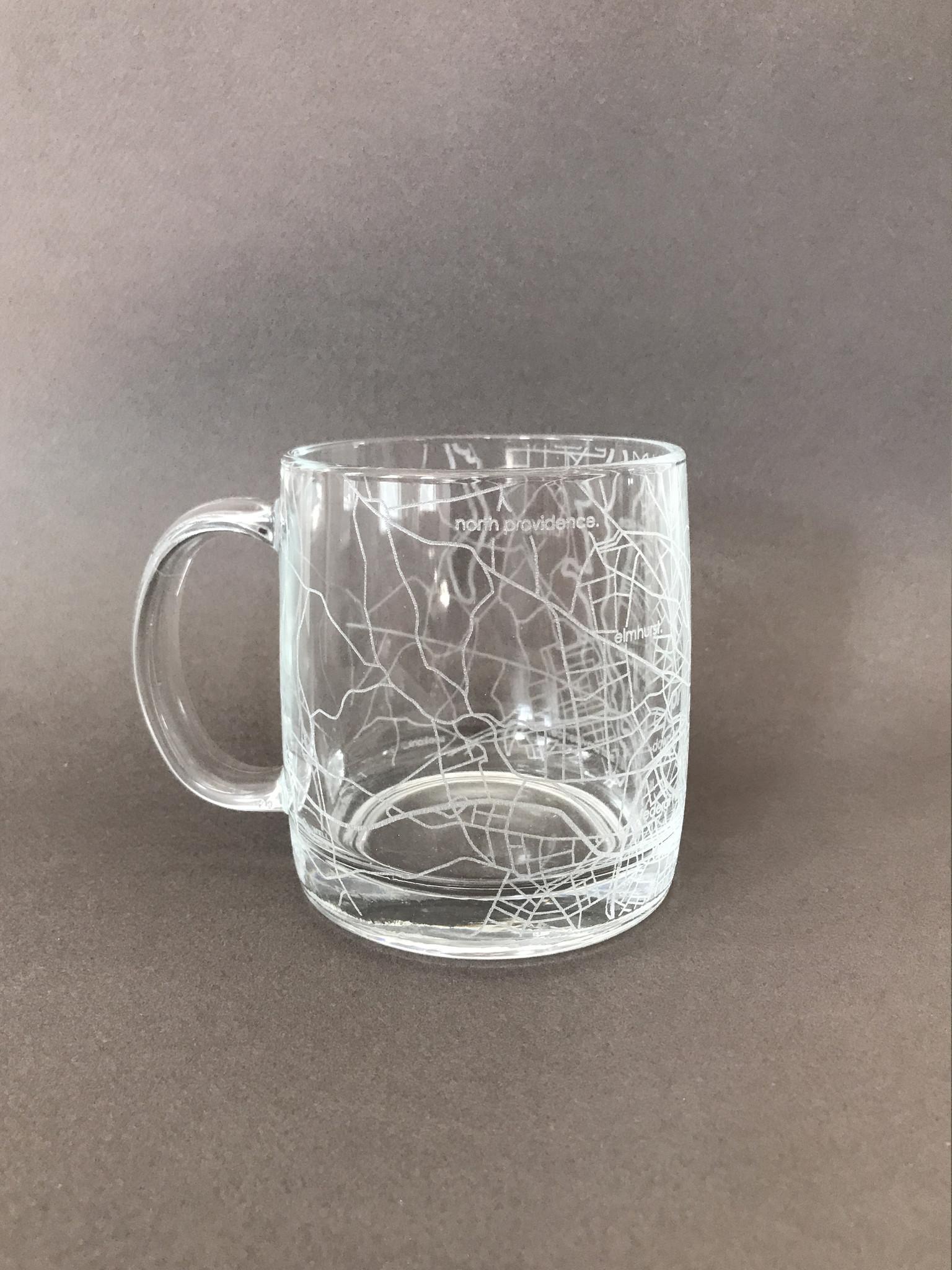 Well Told Hometown Providence Glass Handled Coffee Mug-1