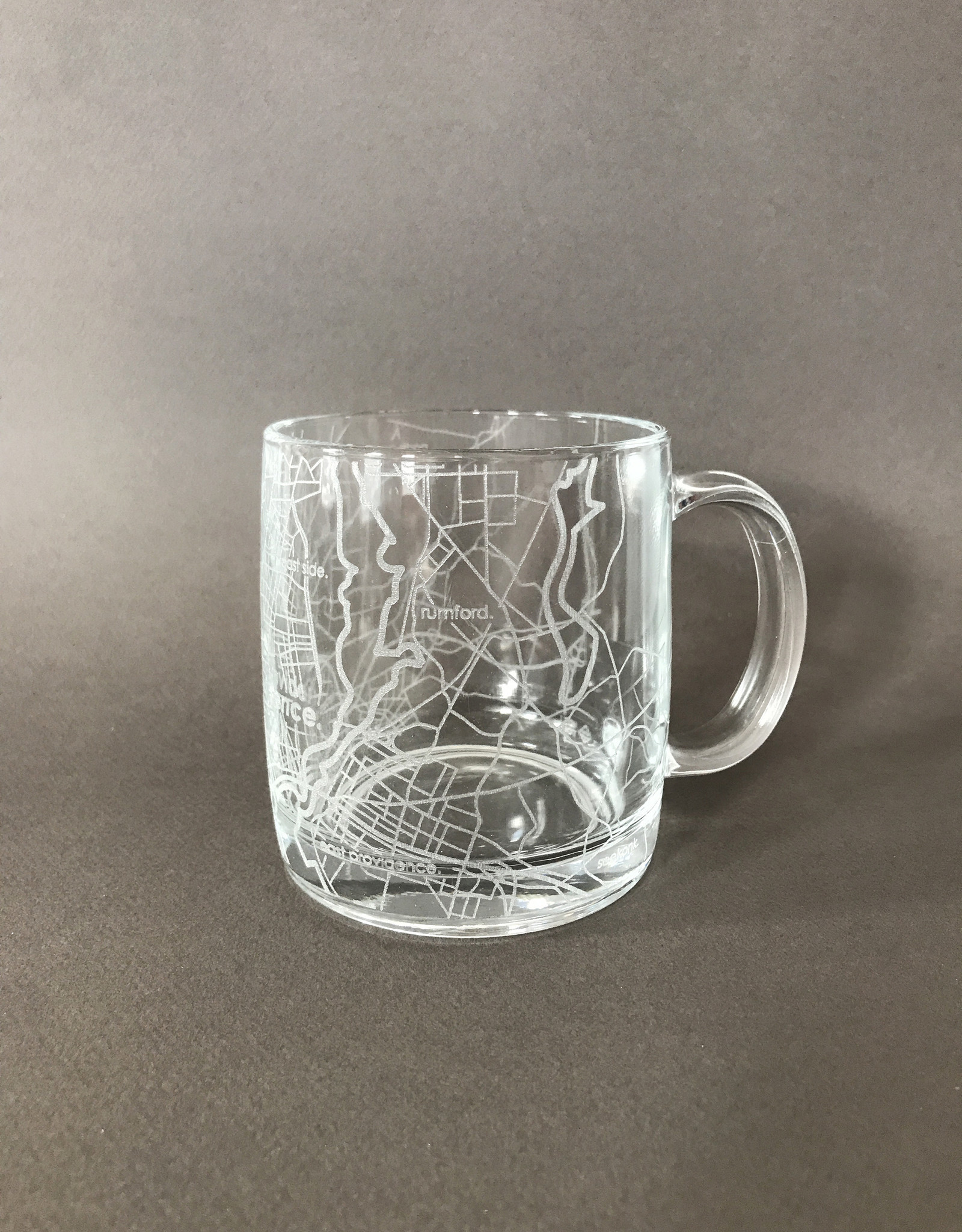 Well Told Well Told Hometown Providence Glass Handled Coffee Mug