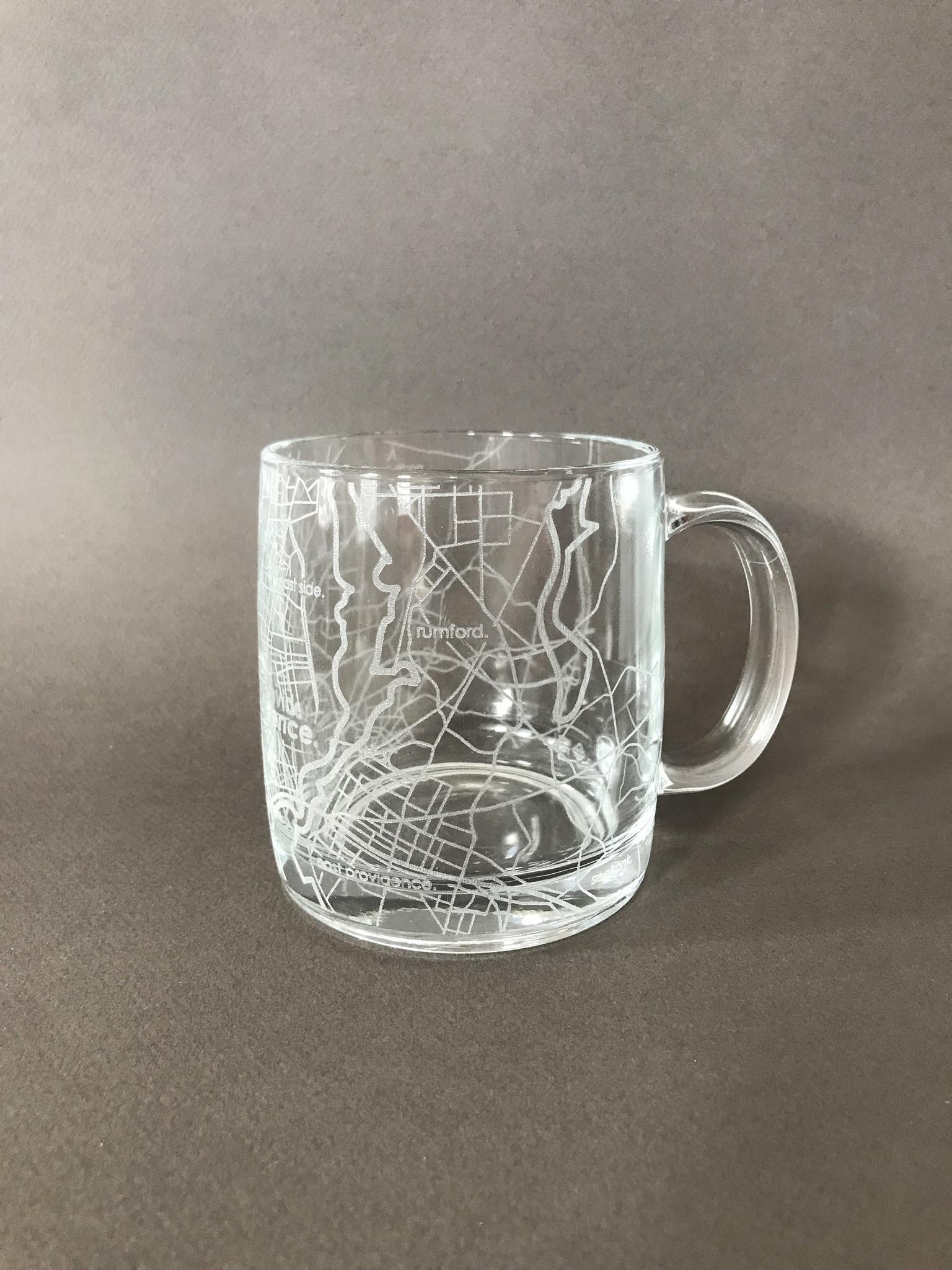 Well Told Hometown Providence Glass Handled Coffee Mug-2