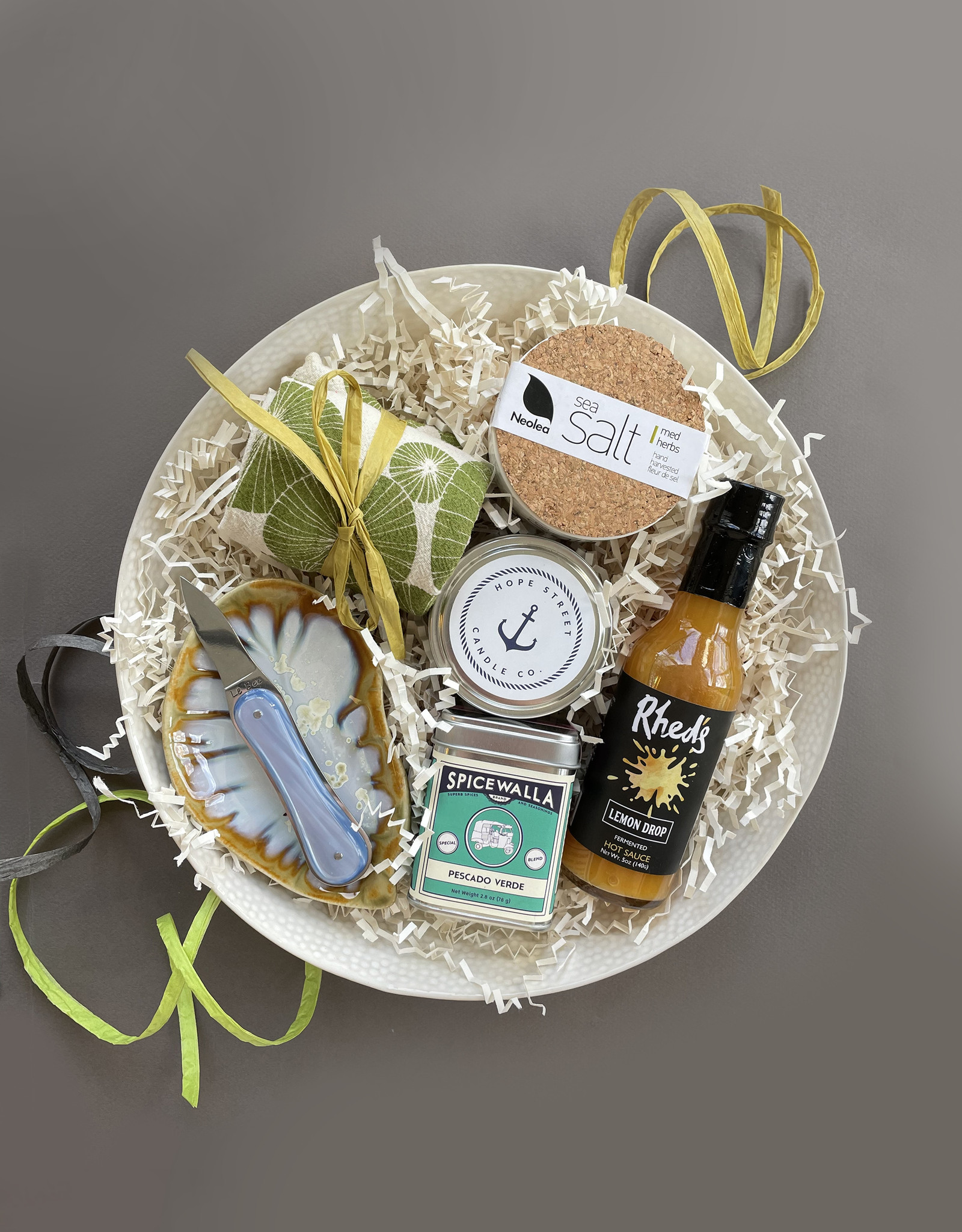 Oyster Lover's Gift- featuring BIA Cream Bowl