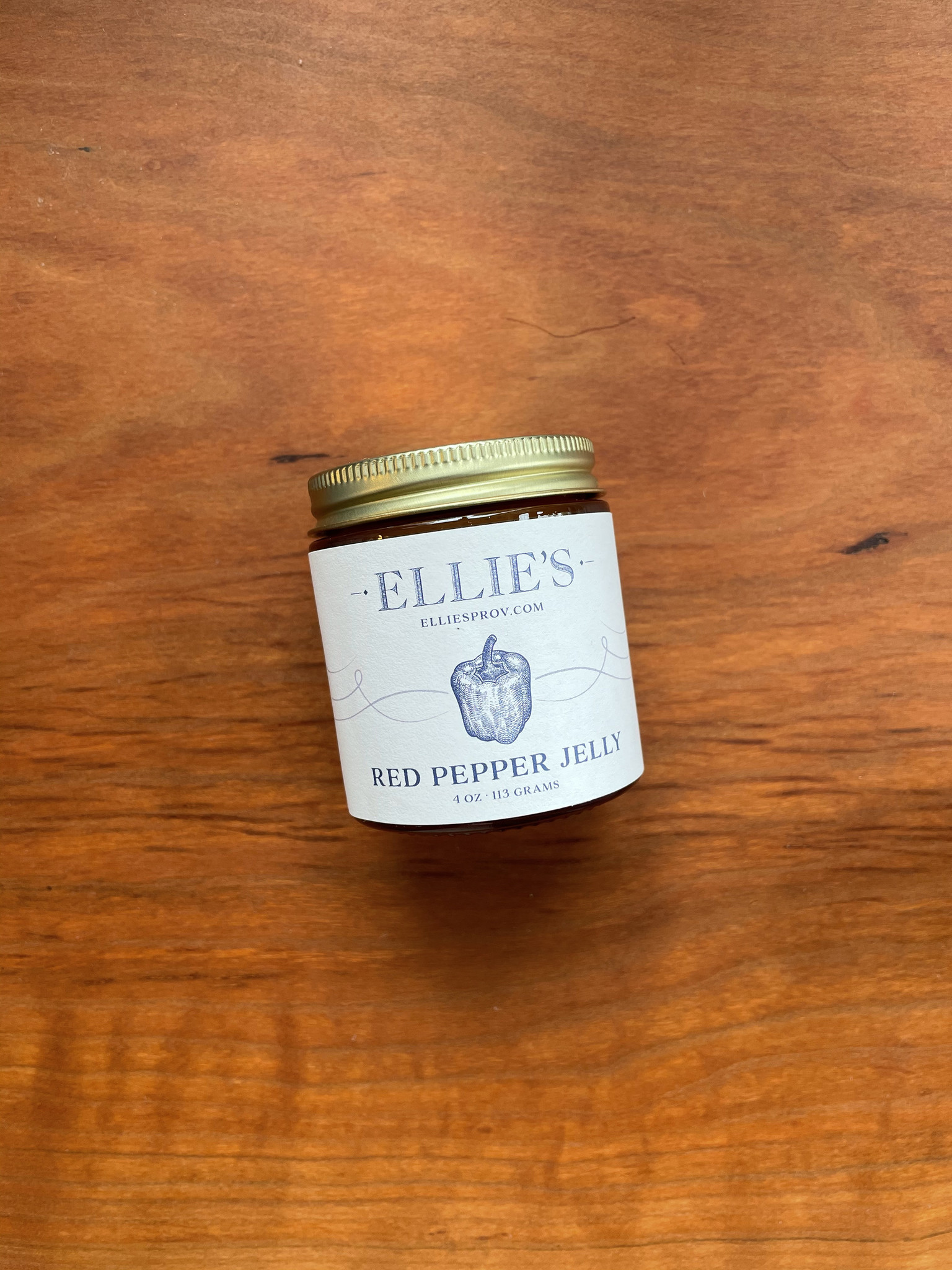 Ellie's Red Pepper Jelly, 4 oz.-1