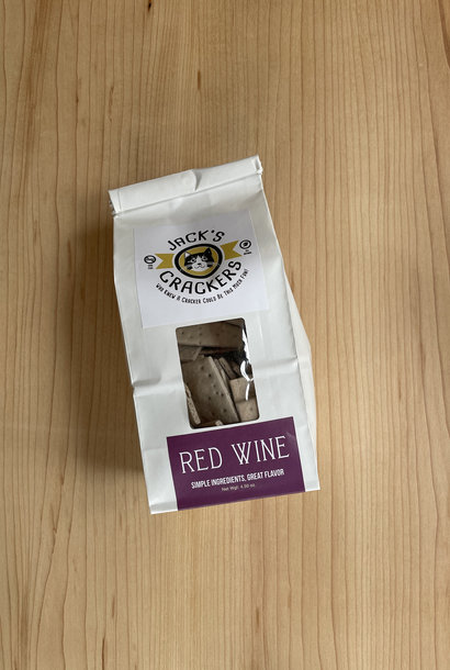 Jack's Crackers Red Wine