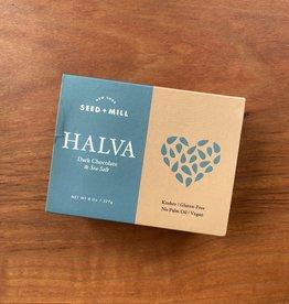 Seed + Mill Dark Chocolate & Sea Salt Halva, 8 oz.