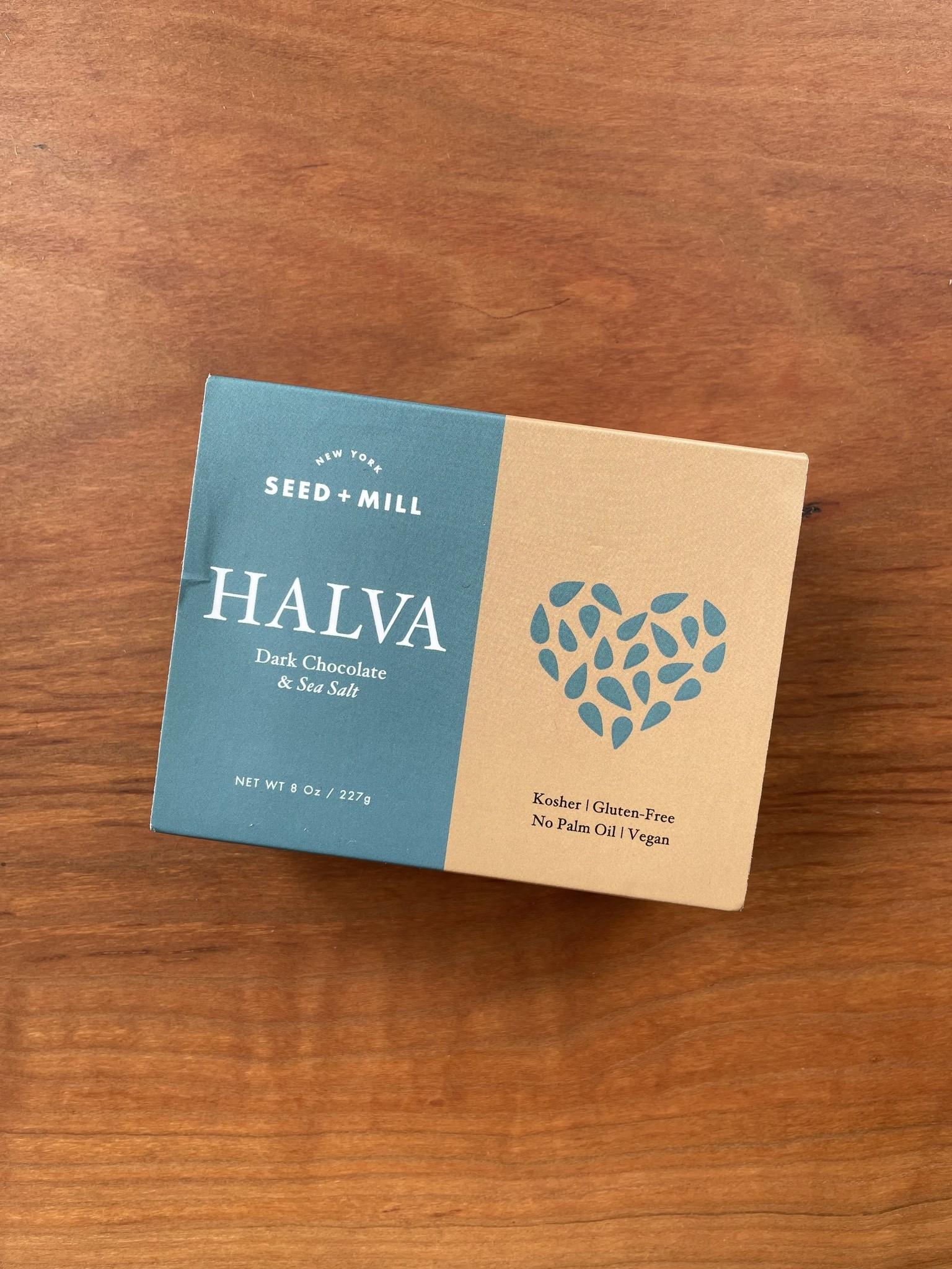 Seed + Mill Dark Chocolate & Sea Salt Halva, 8 oz.-1