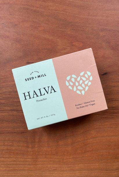 Seed + Mill Pistachio Halva, 8 oz.