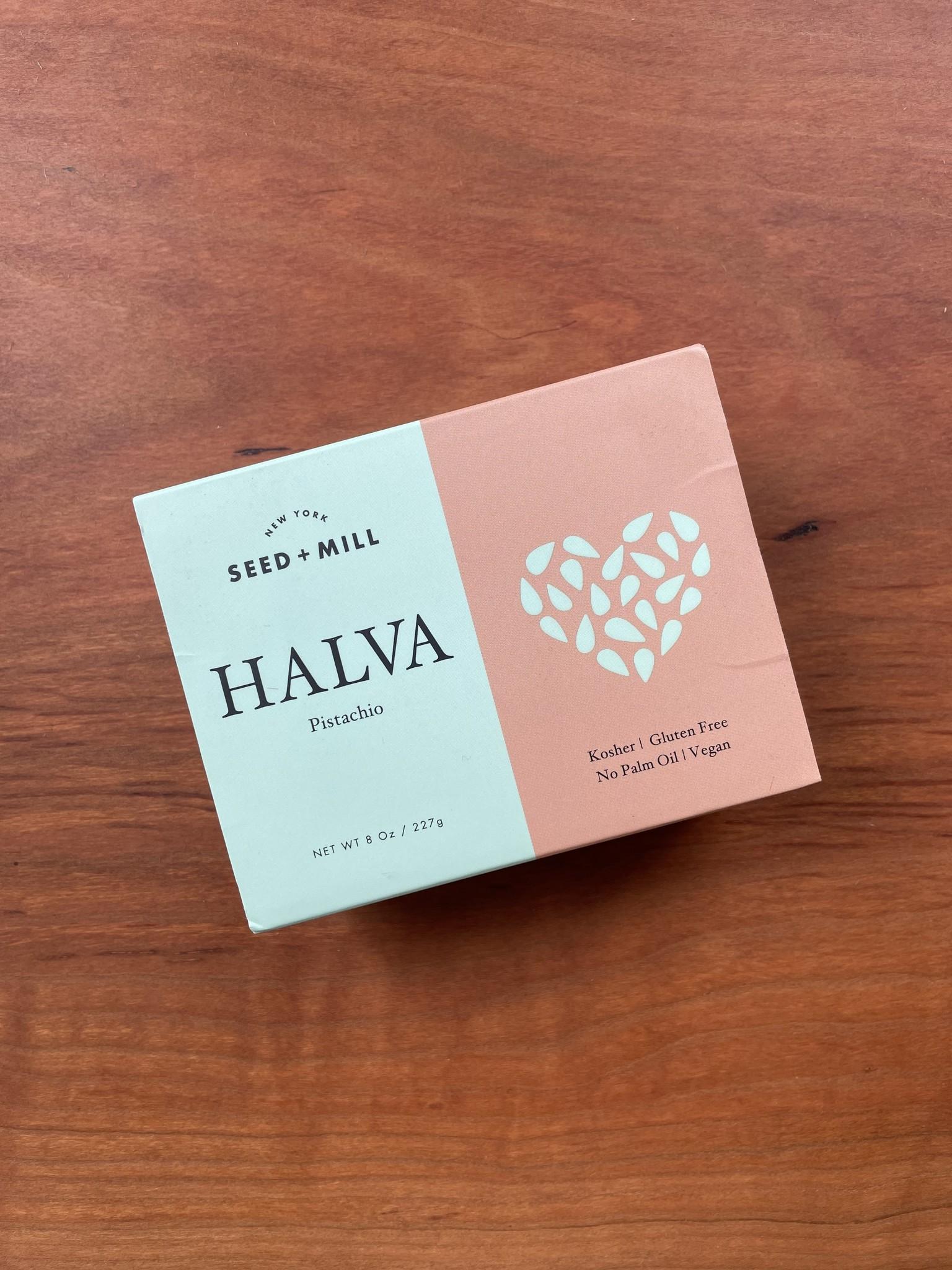 Seed + Mill Pistachio Halva, 8 oz.-1