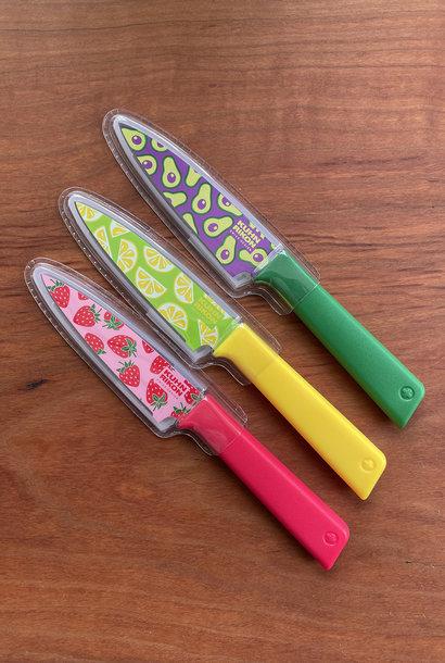 Kuhn Rikon Colori Fruit Paring Knives