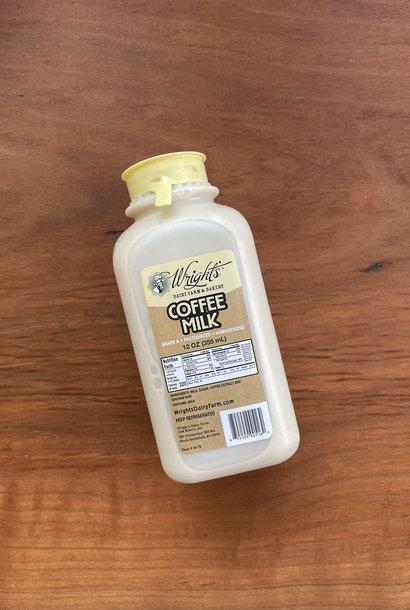 Wright's Coffee Milk, 12 oz.