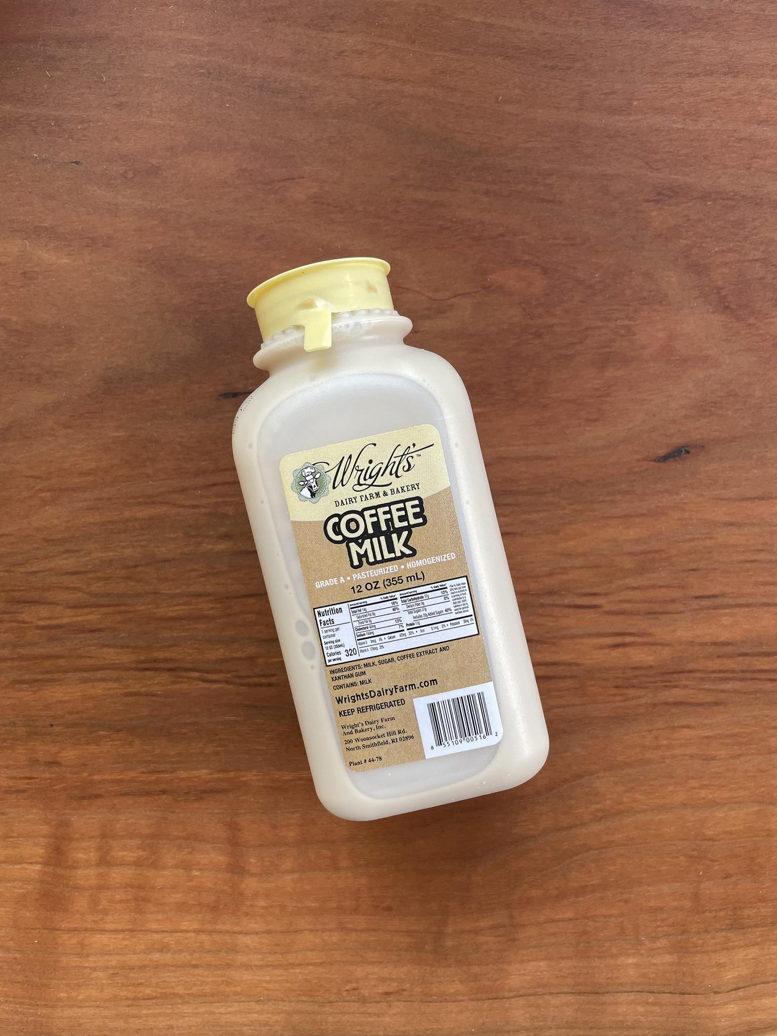 Wright's Coffee Milk, 12 oz.-1