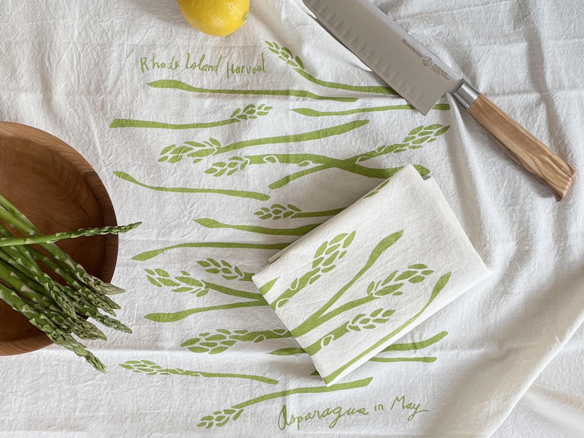 Rhode Island Harvest Tea Towels by Cricicis Design-6