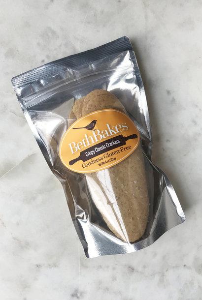 Beth Bakes Gluten Free Crackers