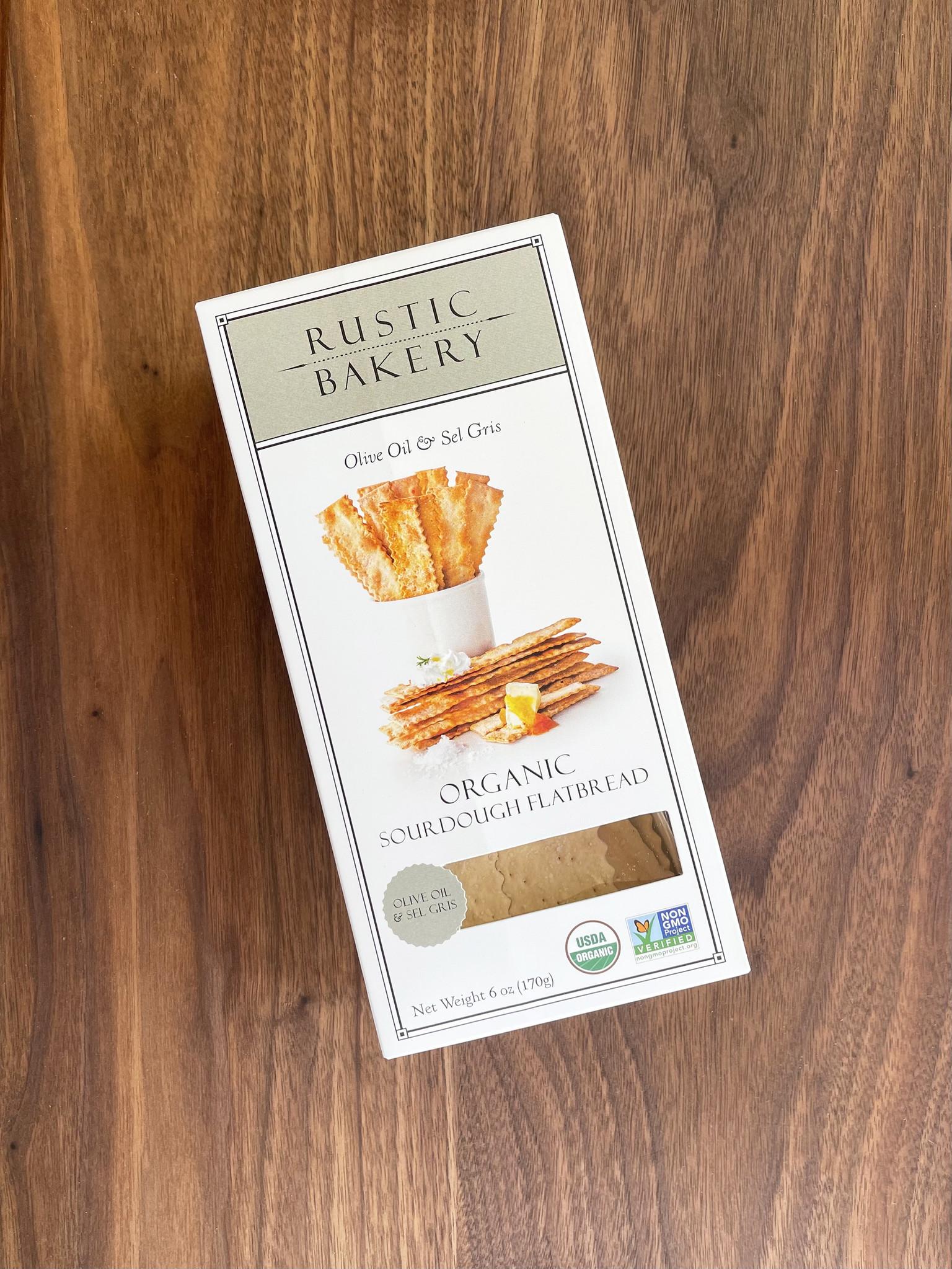Rustic Bakery Olive Oil & Salt Sourdough Flatbread Crackers-1