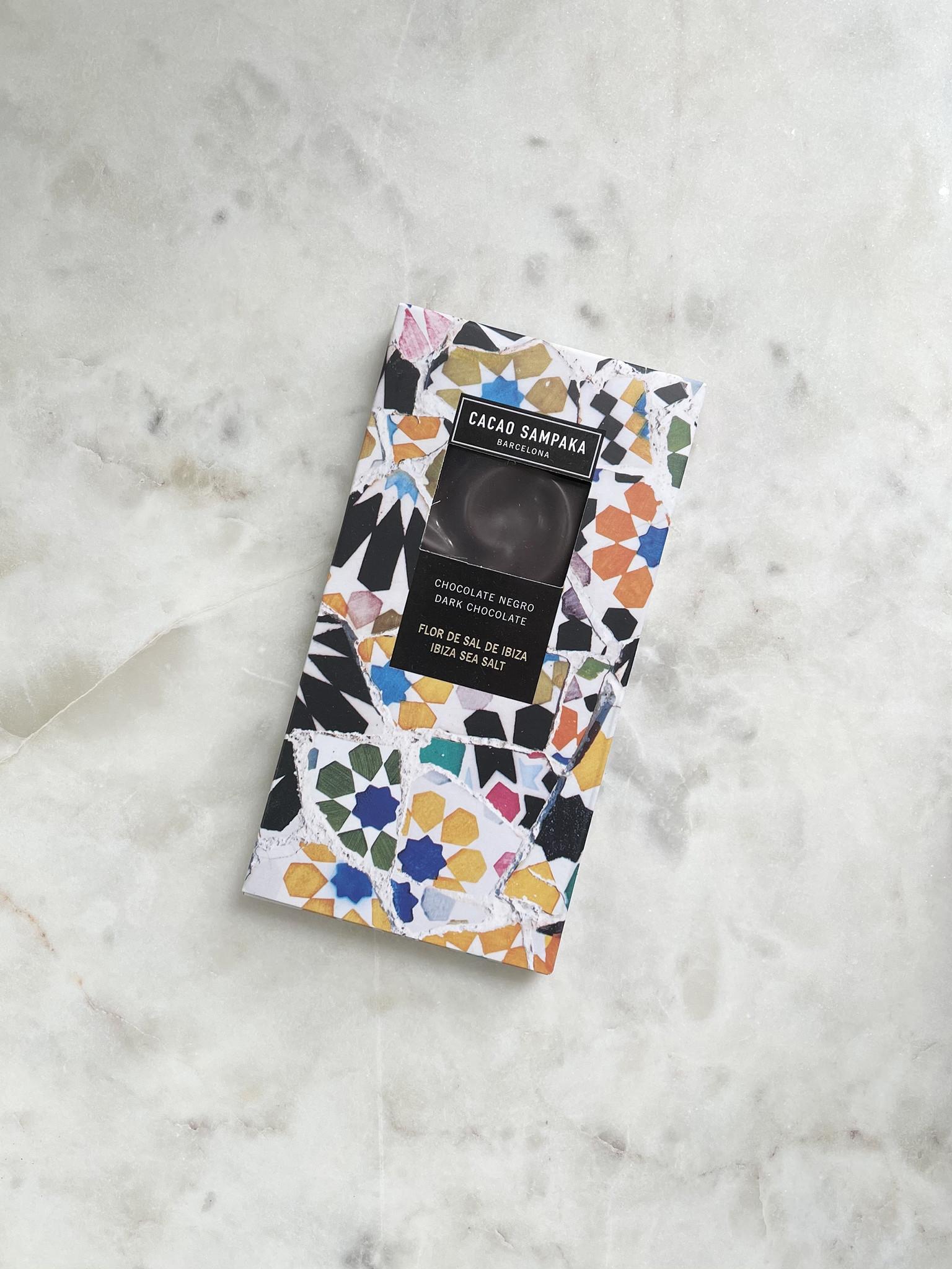Cacao Sampaka Dark Chocolate Bar with Ibiza Sea Salt-1