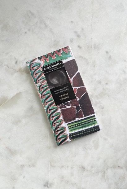 Cacao Sampaka Dark Chocolate Bar with Pistachio