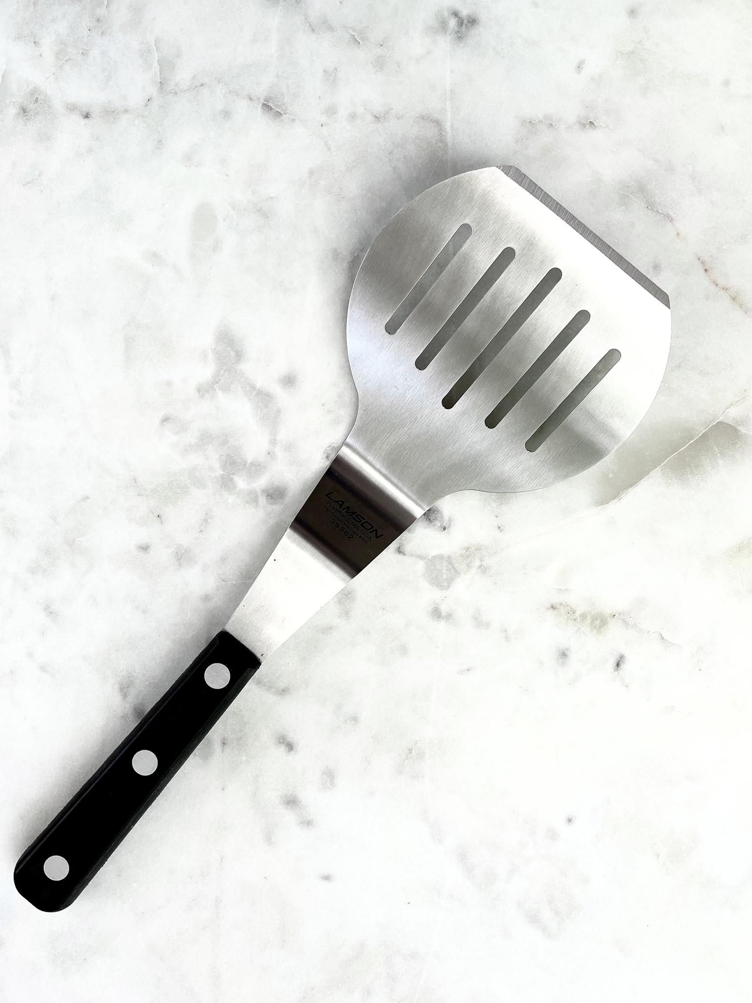 Lamson Pancake Turner with Black Handle-1