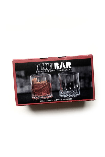Riedel Bar Neat Whisky Glasses, Set of 2