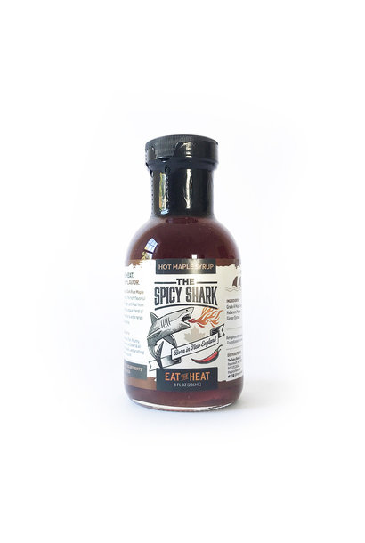 Spicy Shark Hot Maple Syrup