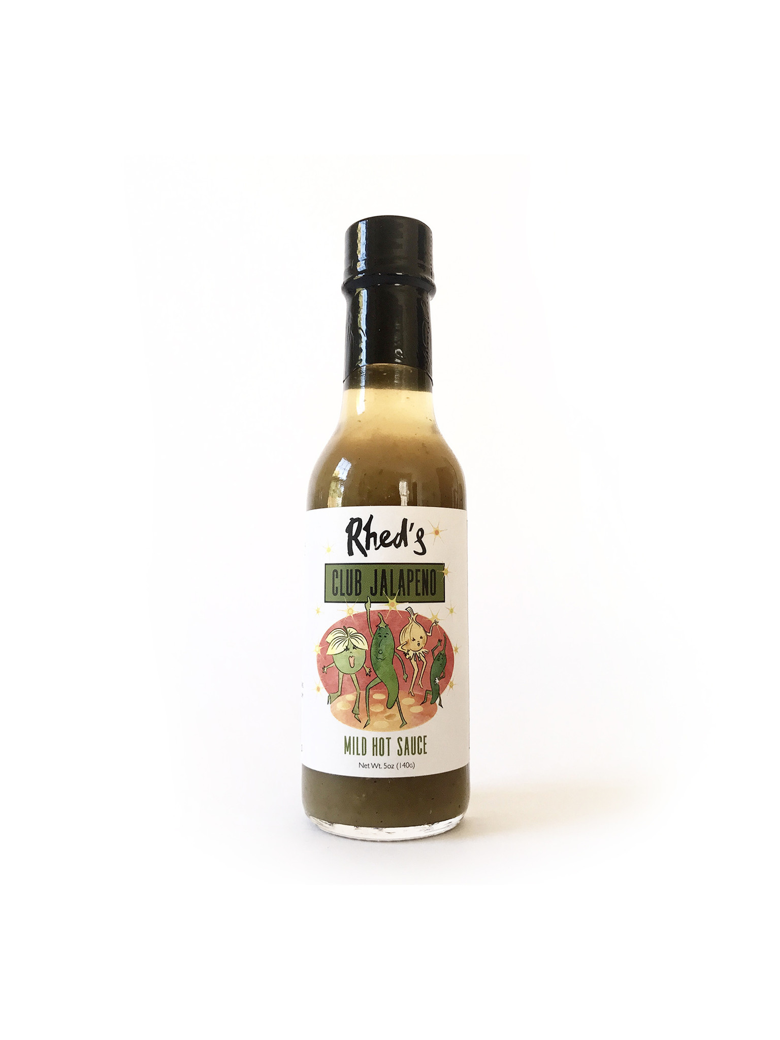 Rhed's Hot Sauces, 5 oz.-2
