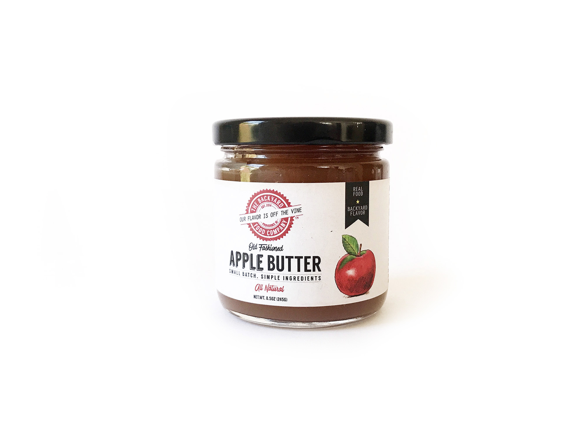 The Backyard Food Company Apple Butter-1