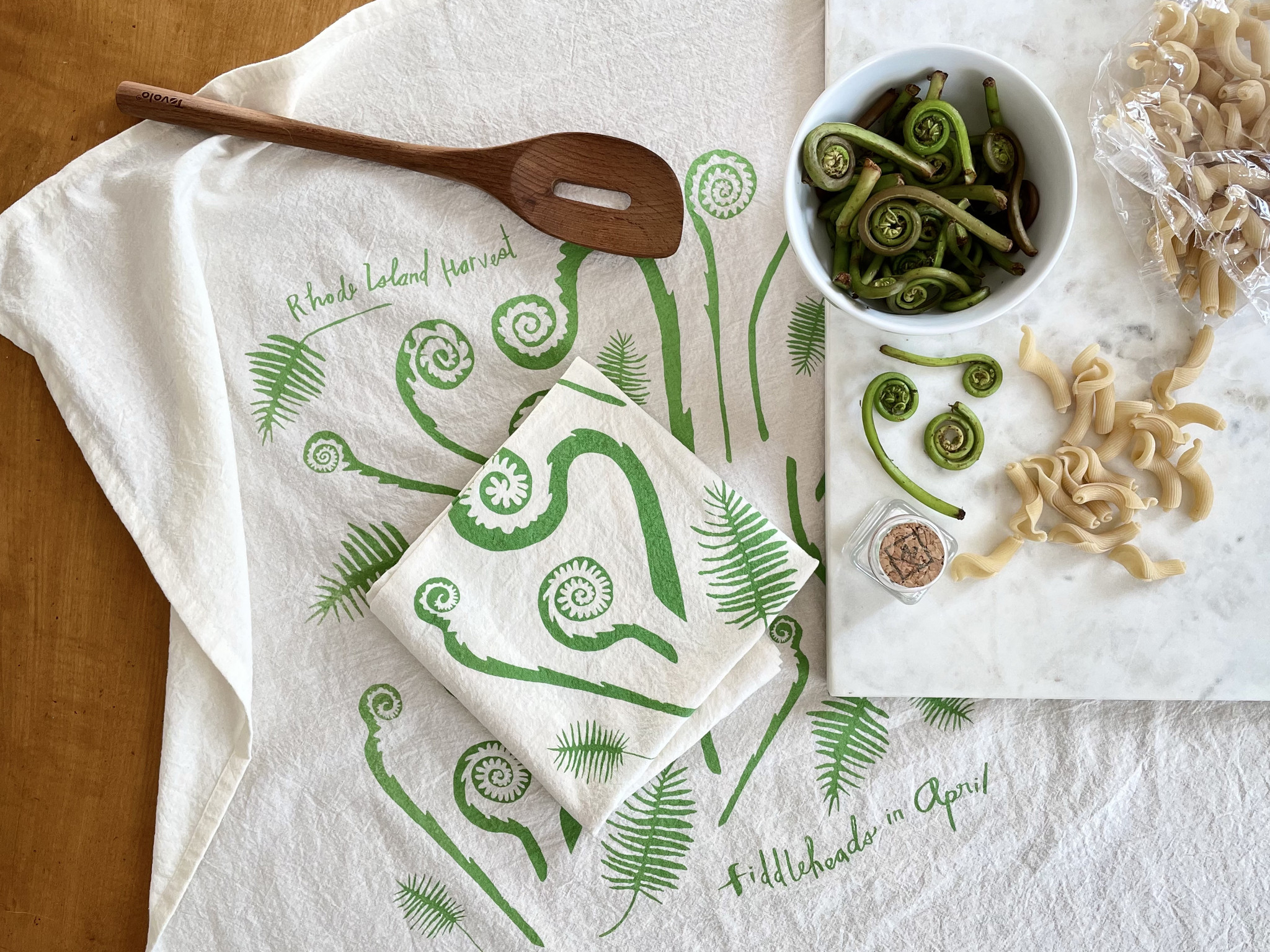 Rhode Island Harvest Tea Towels by Cricicis Design-8