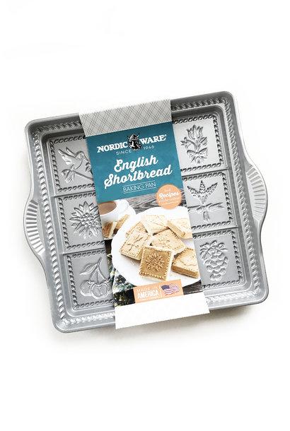 """Nordic Ware English Shortbread Pan, 9"""" x 9"""""""