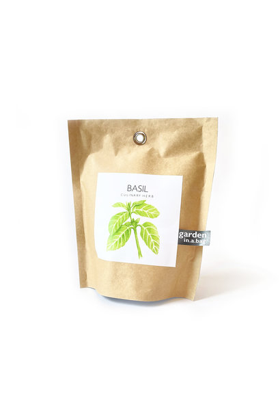 Potting Shed Creations Basil Garden in a Bag