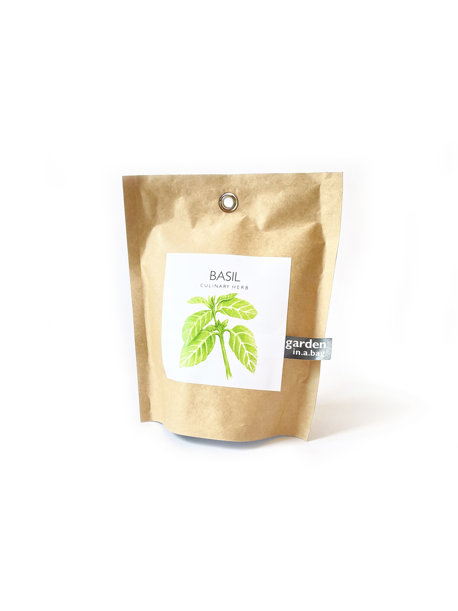 Potting Shed Creations Basil Garden in a Bag-1