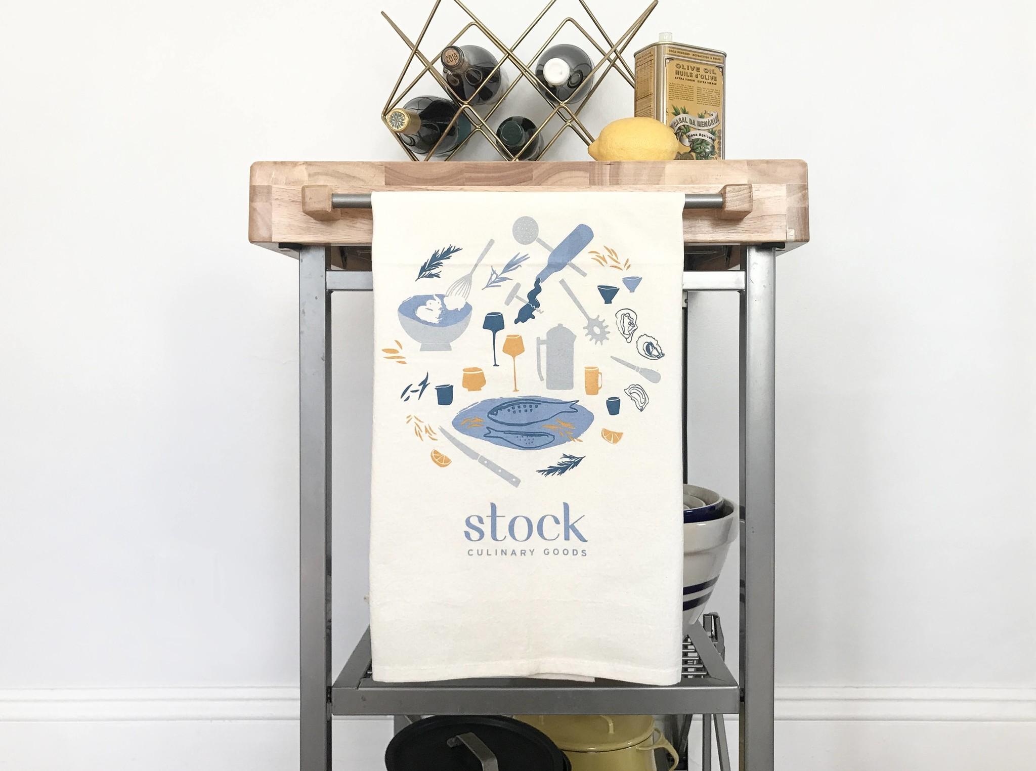 Cricicis Design & Stock Tea Towel-1
