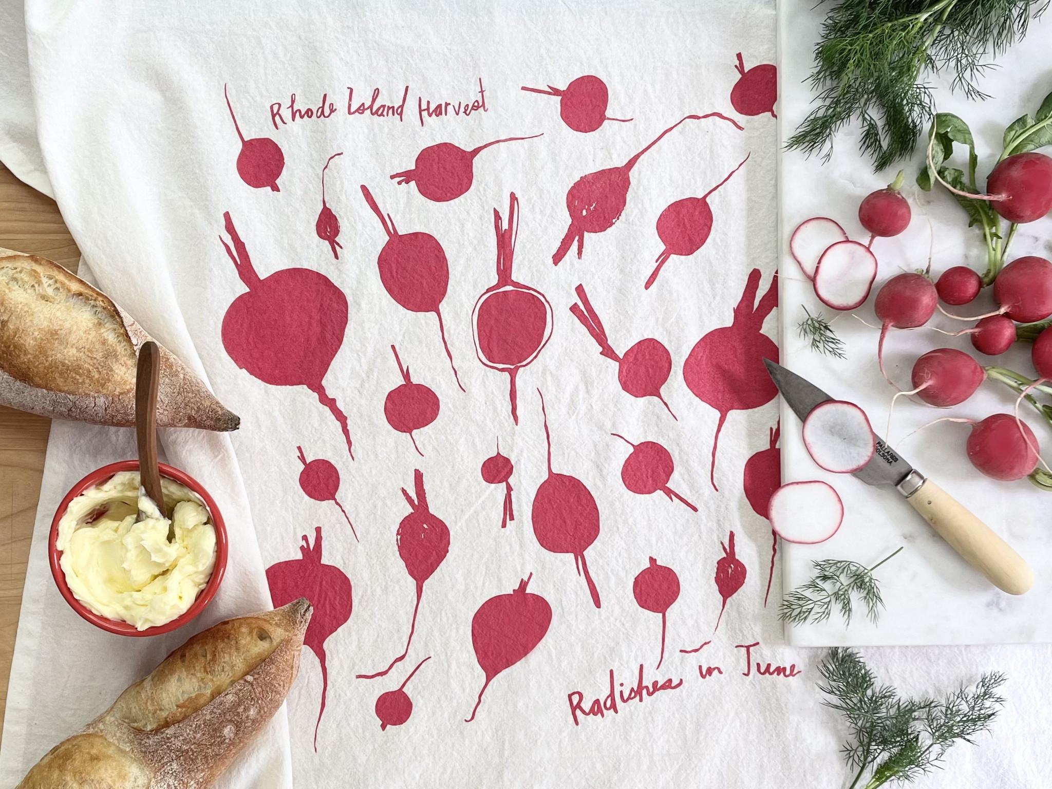 Rhode Island Harvest Tea Towels by Cricicis Design-4