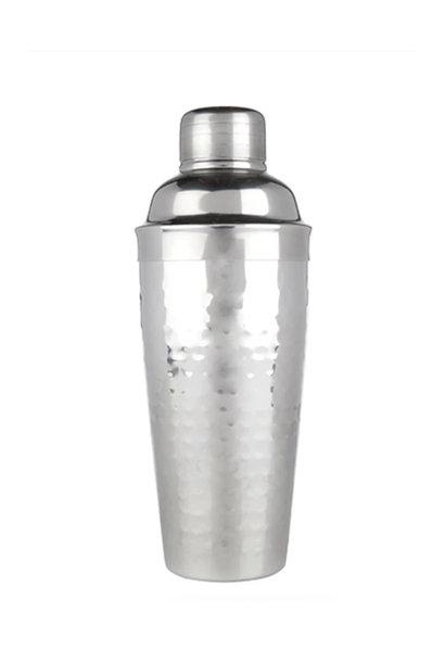 Viski Hammered Cocktail Shaker, 24 oz.