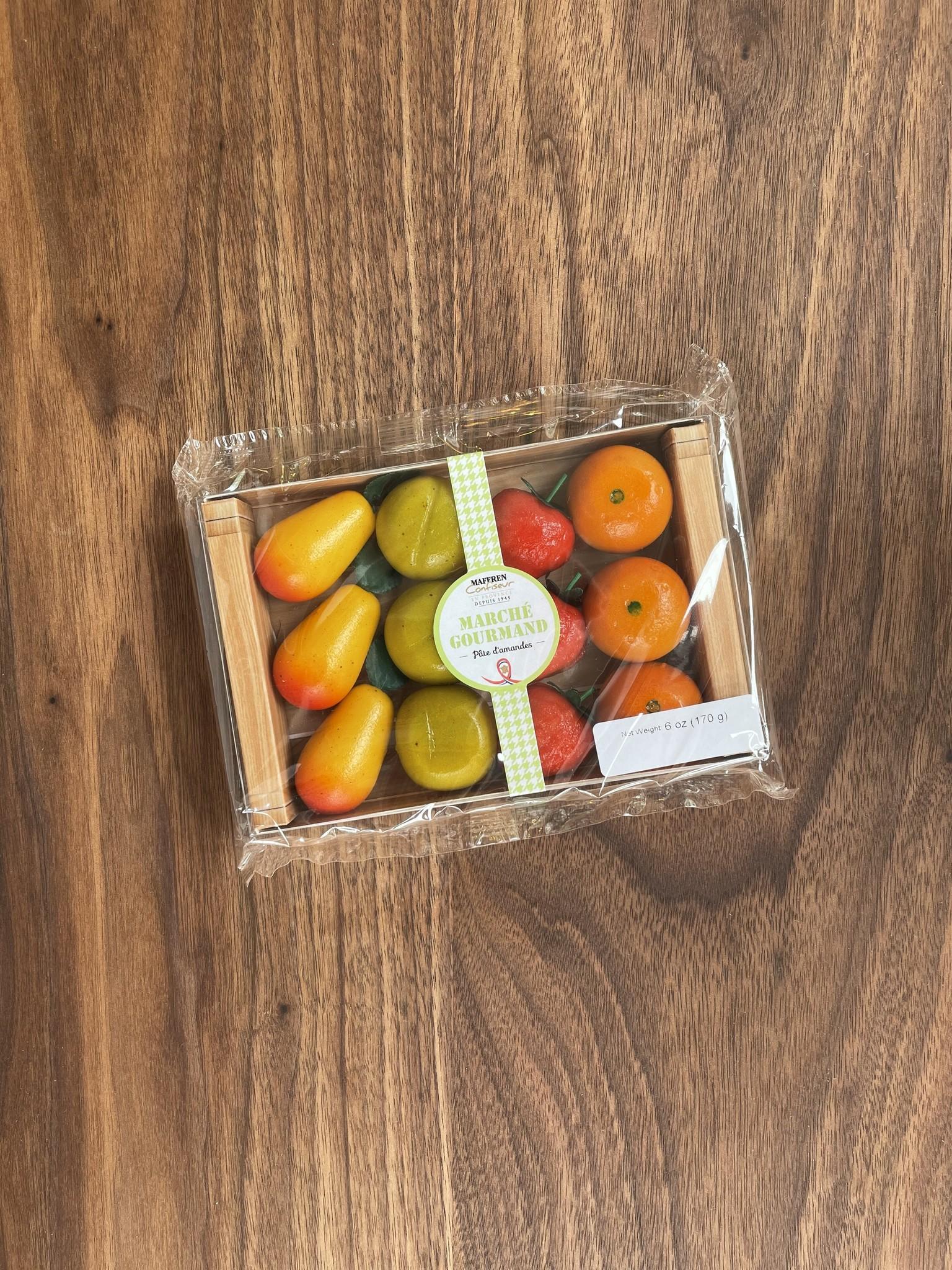 Maffren Assorted Fruit Marzipan, Crate of 12-1
