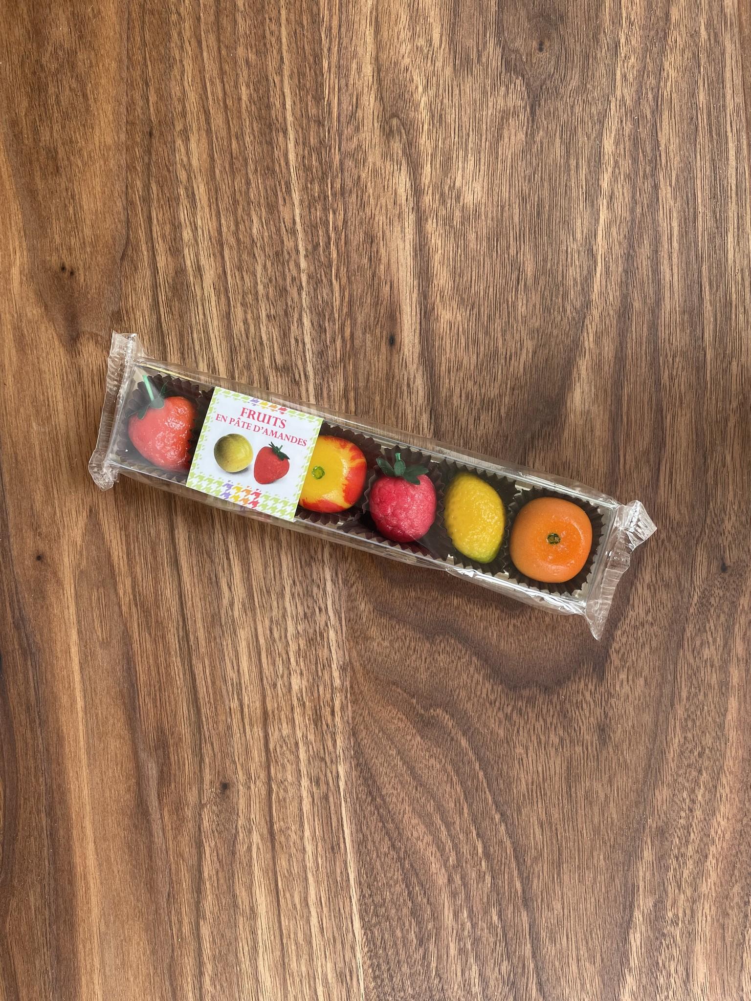 Maffren Fruit Marzipan, Box of 6-1