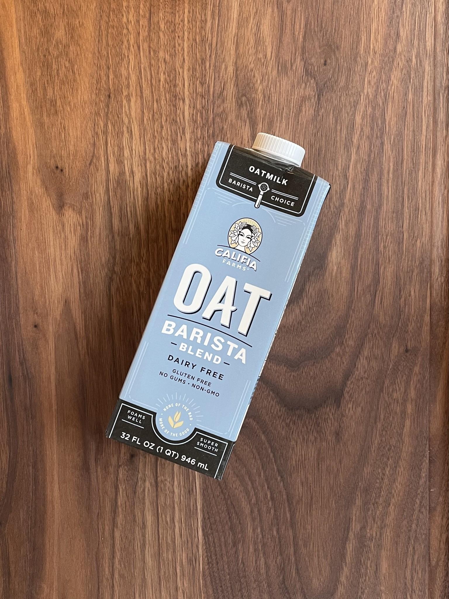 Califia Barista Blend Oat Milk, 32 oz.-1