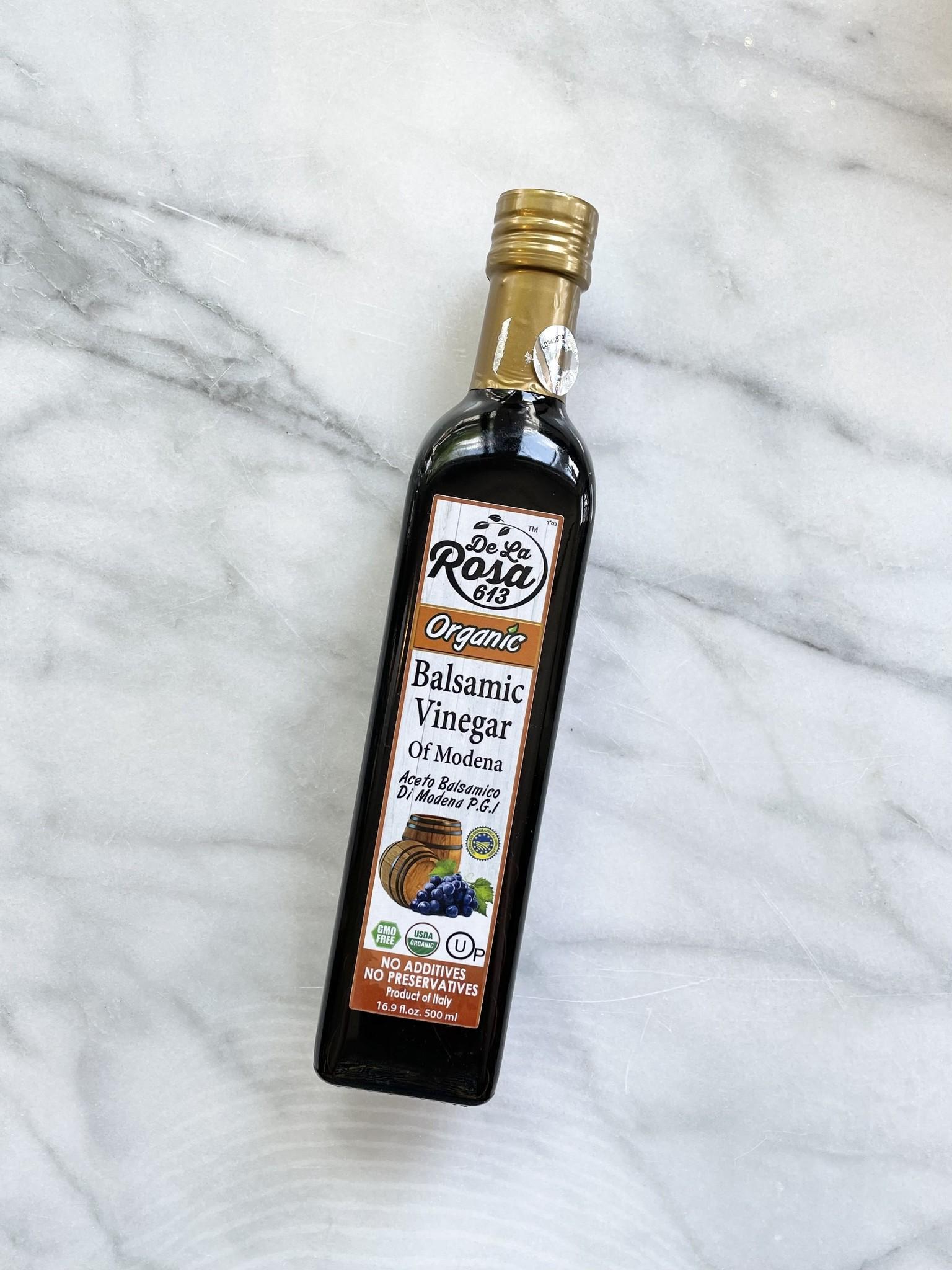 De La Rosa Organic Balsamic Vinegar, 16 oz.-1