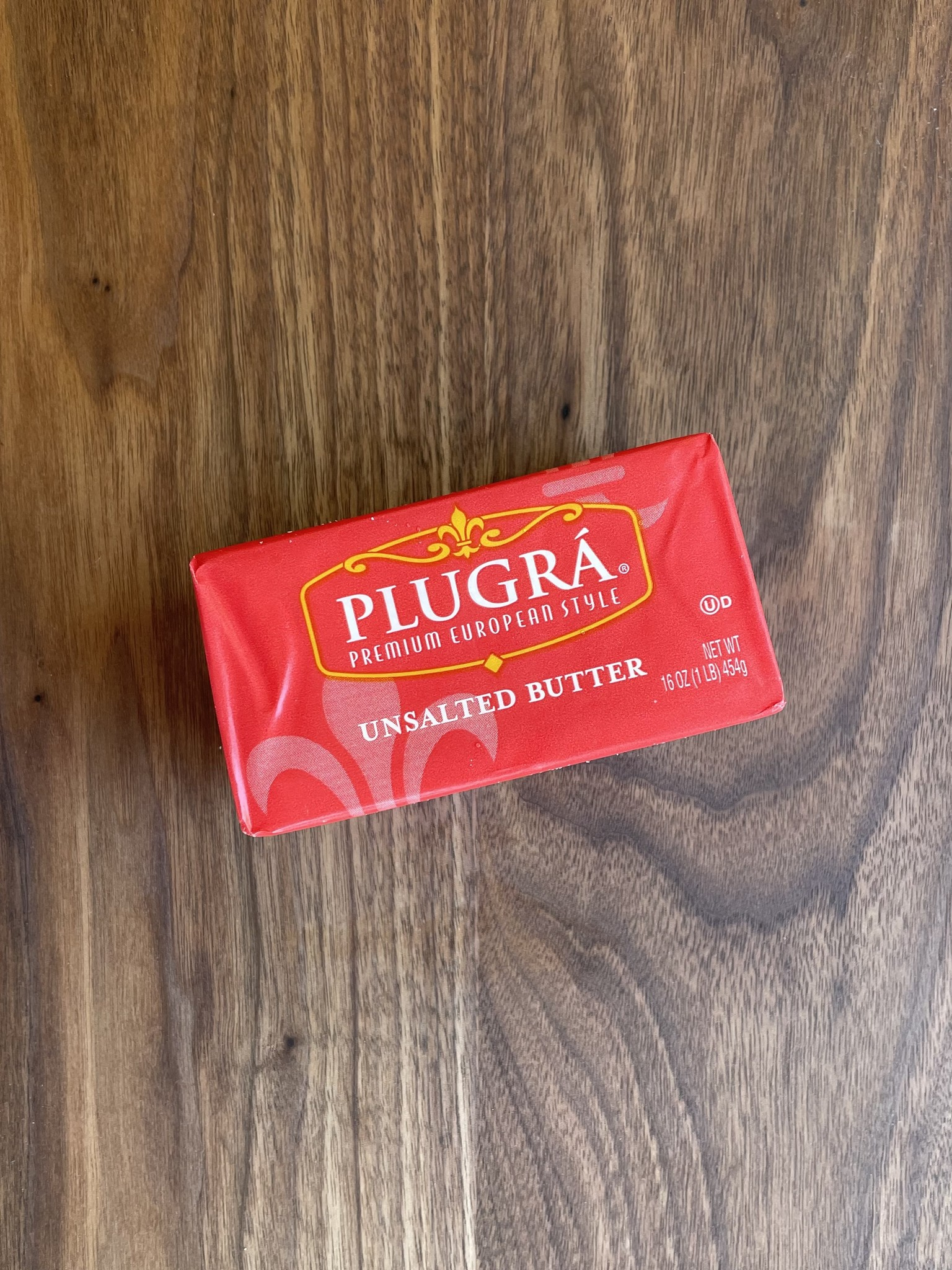 Plugra Cultured Unsalted Butter, 16 oz.-1