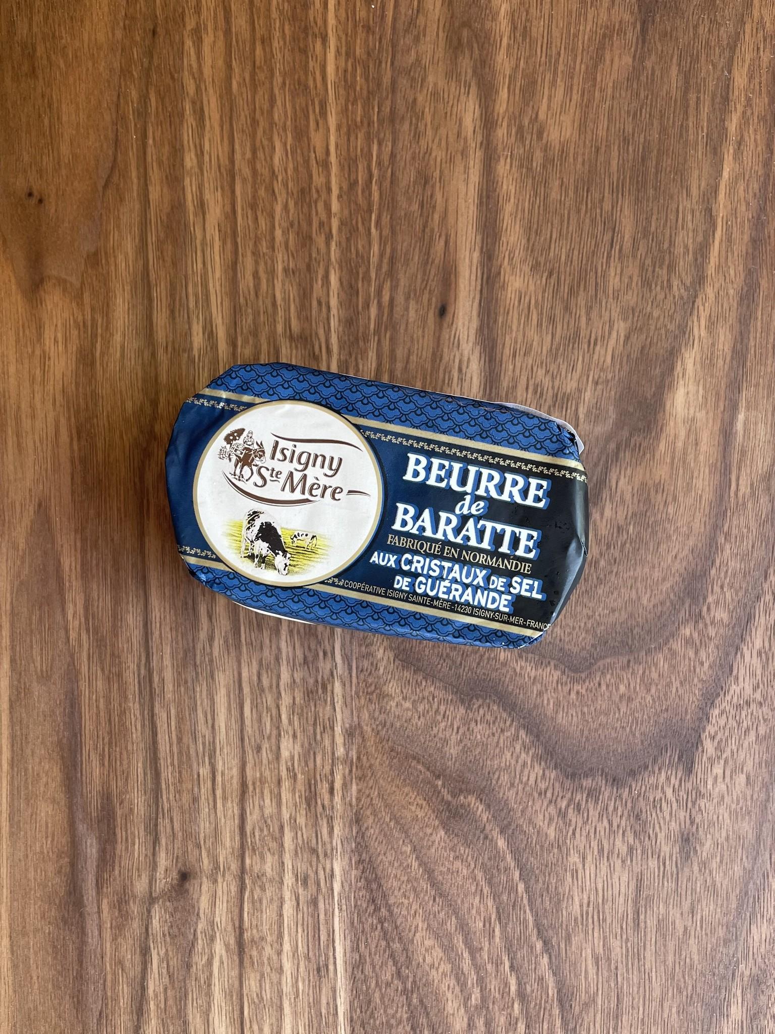 Isigny de Mer Beurre de Baratte Salted Butter with Fleur de Sel-1