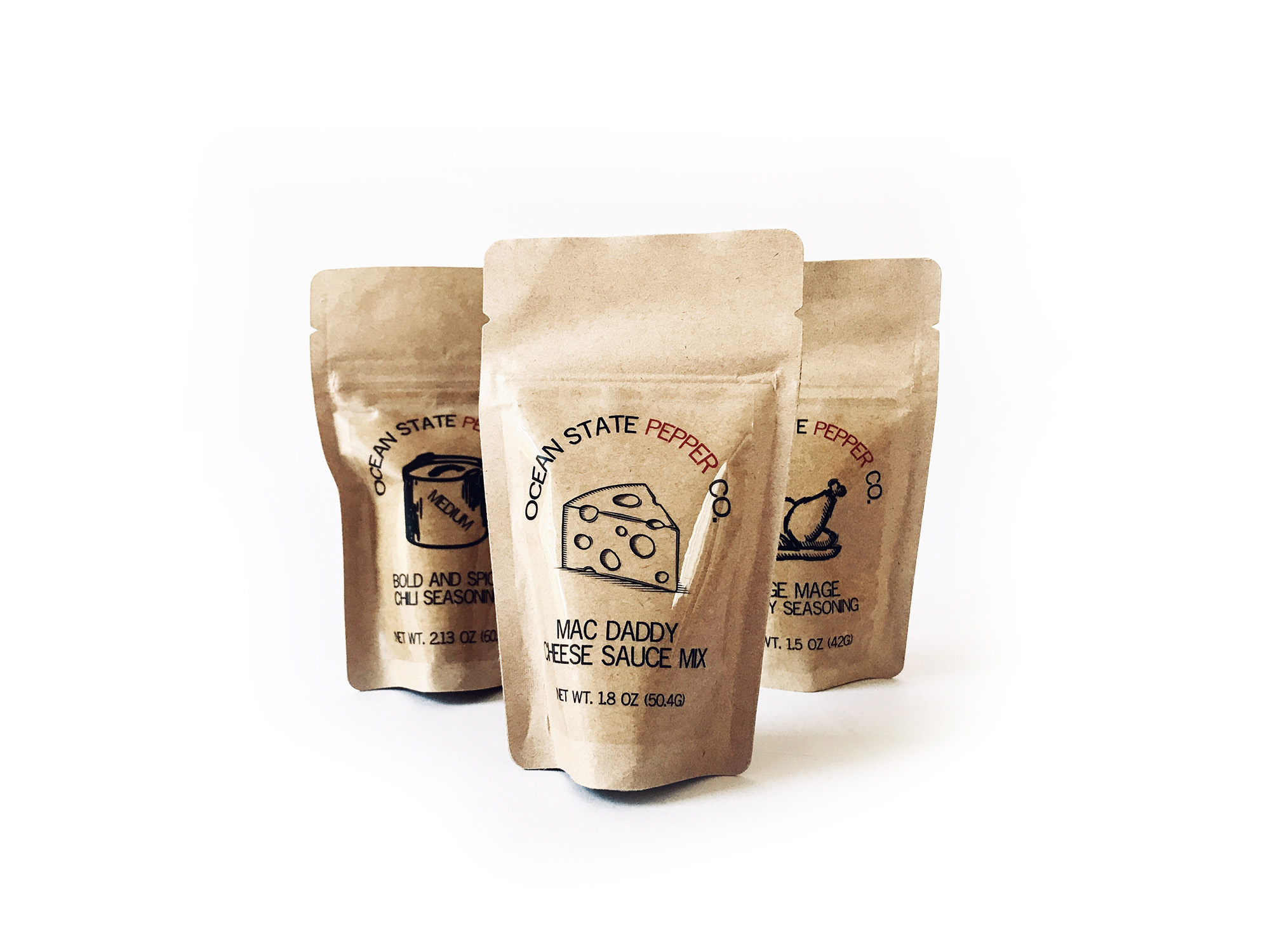 Ocean State Pepper Co. Pouches-1