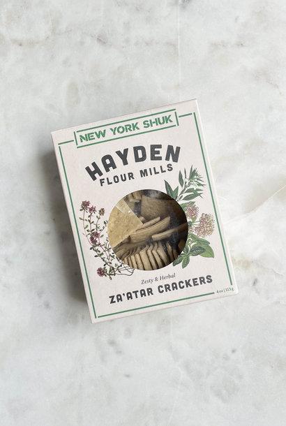 New York Shuk Za'atar Crackers