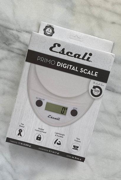 Escali Primo White  11 lb. Digital Scale