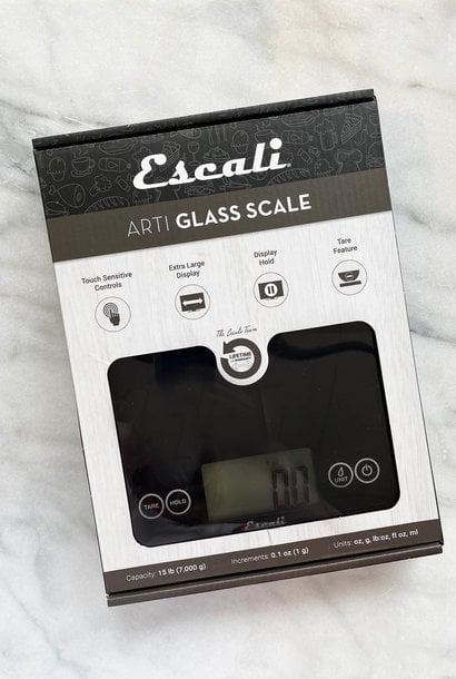 Escali Arti Black 15 lb. Digital Scale
