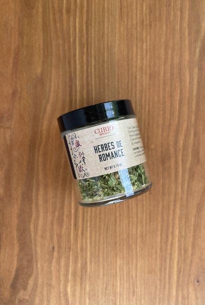 Curio Spice Co. Herbes de Romance,  0.75 oz.