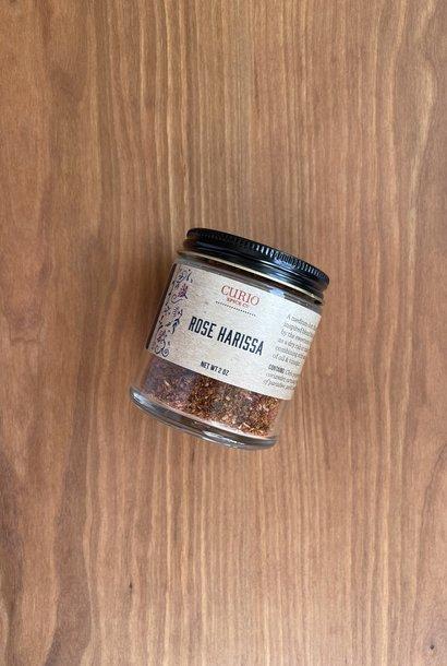 Curio Spice Co. Rose Harissa, 2 oz.