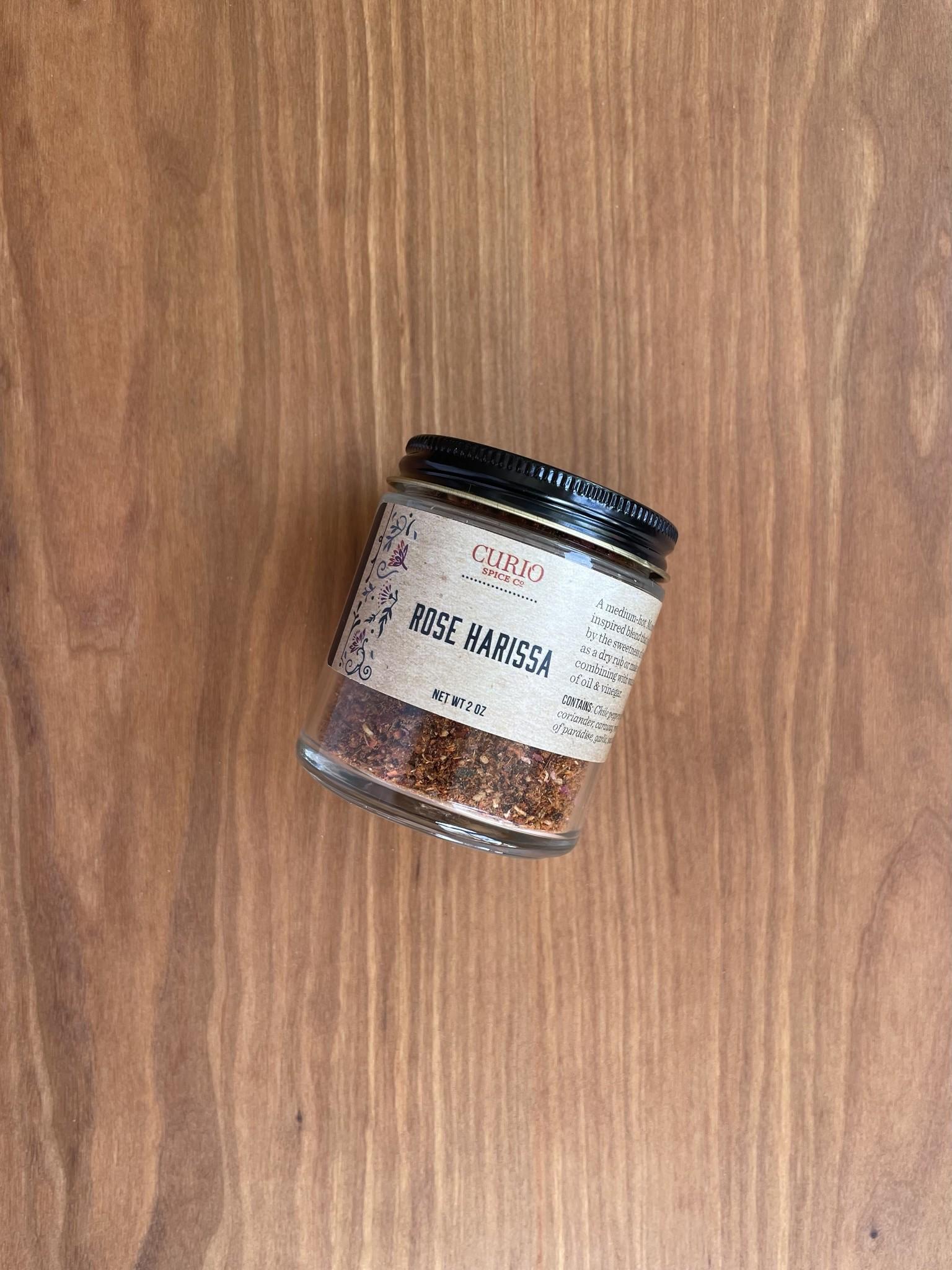 Curio Spice Co. Rose Harissa, 2 oz.-1