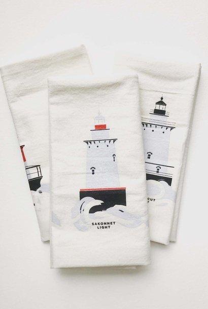 Cricicis Design Rhode Island Lighthouse Tea Towel