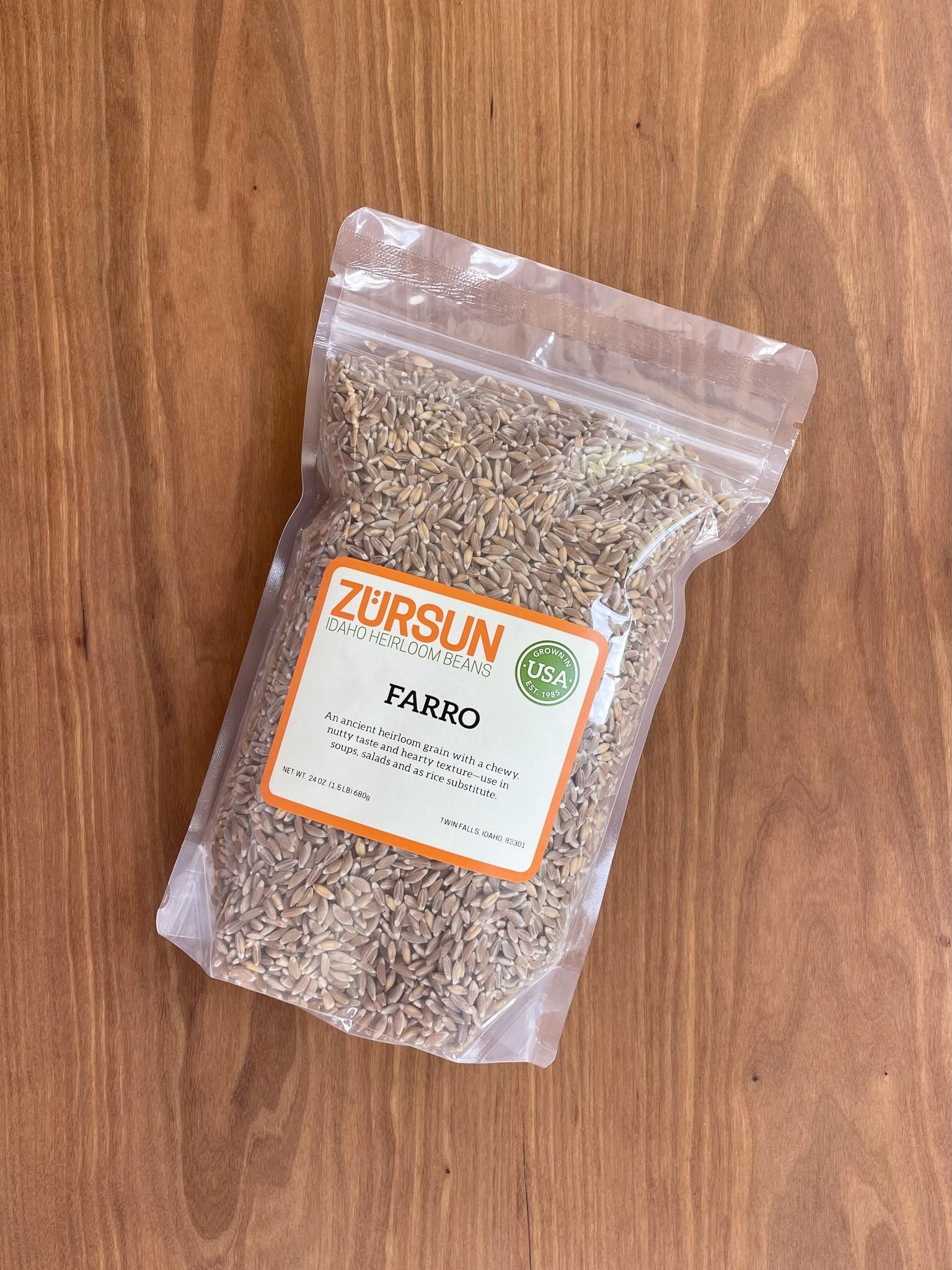 Zursun Idaho Heirloom Farro 1.5 lb-1